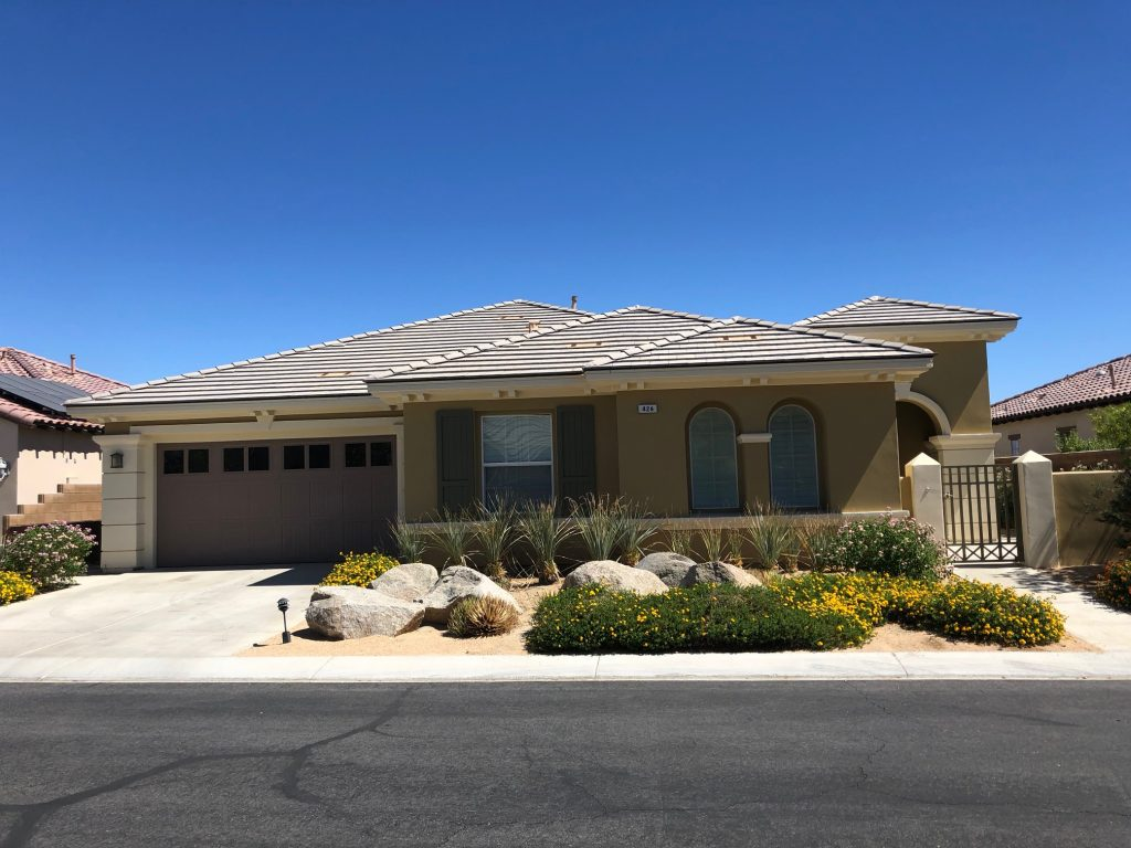 Picture of Coachella Valley Home Watch client's home prior to inspection